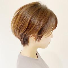 ショート ベリーショート ショートボブ モテボブ ヘアスタイルや髪型の写真・画像