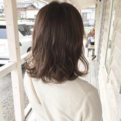 ハイライト 3Dハイライト ナチュラル ブラウンベージュ ヘアスタイルや髪型の写真・画像