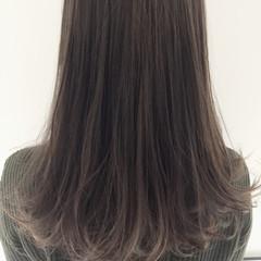 ハイライト グラデーションカラー ロング ストリート ヘアスタイルや髪型の写真・画像