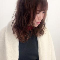 大人かわいい ロング ゆるふわ ガーリー ヘアスタイルや髪型の写真・画像