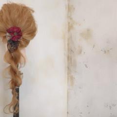 ロング ゆるふわ ショート ヘアアレンジ ヘアスタイルや髪型の写真・画像