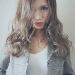 前髪あり セミロング ラフ かっこいい ヘアスタイルや髪型の写真・画像