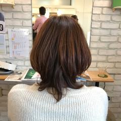 3Dカラー ゆるふわ 秋 大人女子 ヘアスタイルや髪型の写真・画像