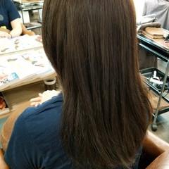 アッシュ トリートメント コンサバ 外国人風カラー ヘアスタイルや髪型の写真・画像