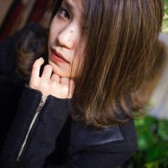 ストリート 外国人風カラー ハイライト クール ヘアスタイルや髪型の写真・画像