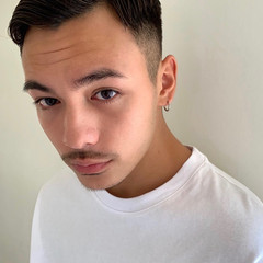 ナチュラル スキンフェード モテ髪 メンズカット ヘアスタイルや髪型の写真・画像