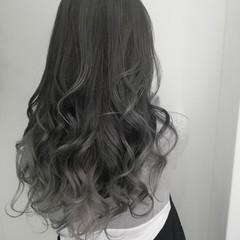 外国人風カラー ブルージュ グラデーションカラー ナチュラル ヘアスタイルや髪型の写真・画像
