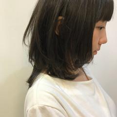 ガーリー ミディアム 外国人風 色気 ヘアスタイルや髪型の写真・画像