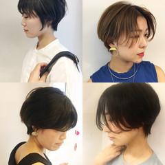 ショート 女子力 簡単ヘアアレンジ ヘアアレンジ ヘアスタイルや髪型の写真・画像