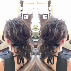 ヘアアレンジ エレガント 上品 アンニュイ ヘアスタイルや髪型の写真・画像