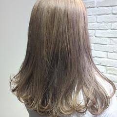 ニュアンス デート ナチュラル フリンジバング ヘアスタイルや髪型の写真・画像