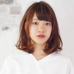 パーマ キュート フェミニン ピュア ヘアスタイルや髪型の写真・画像
