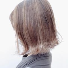 モード グレージュ グラデーションカラー インナーカラー ヘアスタイルや髪型の写真・画像