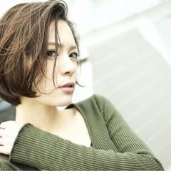 艶髪 ナチュラル ボブ 大人女子 ヘアスタイルや髪型の写真・画像