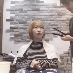 フェミニン ショート ヘアアレンジ ヘアスタイルや髪型の写真・画像