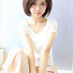大人かわいい ピンク ラフ ピュア ヘアスタイルや髪型の写真・画像