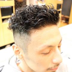 福岡市 ストリート メンズパーマ スパイラルパーマ ヘアスタイルや髪型の写真・画像