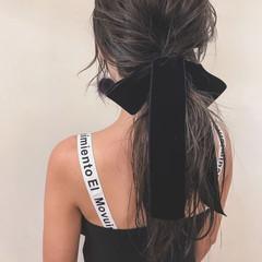 ヘアアレンジ デート 外国人風 ナチュラル ヘアスタイルや髪型の写真・画像