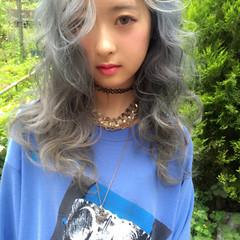 外国人風 アッシュ ストリート 暗髪 ヘアスタイルや髪型の写真・画像