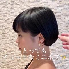 ヘアアレンジ イメチェン オフィス ナチュラル ヘアスタイルや髪型の写真・画像