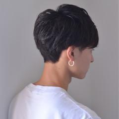 デート ショート 成人式 アウトドア ヘアスタイルや髪型の写真・画像
