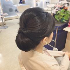 ヘアアレンジ エレガント パーティ きれいめ ヘアスタイルや髪型の写真・画像