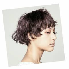 モード 外国人風 ボブ こなれ感 ヘアスタイルや髪型の写真・画像