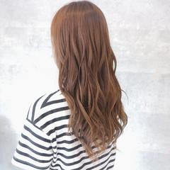 ロング グラデーションカラー ブリーチなし デート ヘアスタイルや髪型の写真・画像