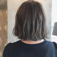 結婚式 透明感 ナチュラル オフィス ヘアスタイルや髪型の写真・画像