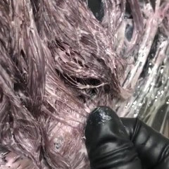 ラベンダーピンク エレガント ピンクアッシュ ピンク ヘアスタイルや髪型の写真・画像