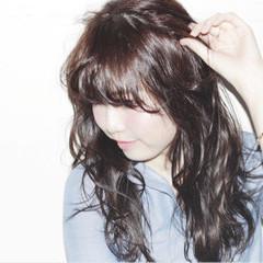 黒髪 ストリート パーマ 外国人風 ヘアスタイルや髪型の写真・画像