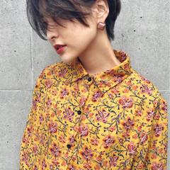 デート アウトドア ウェーブ モード ヘアスタイルや髪型の写真・画像