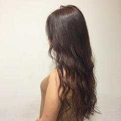 ガーリー 艶髪 グラデーションカラー 大人かわいい ヘアスタイルや髪型の写真・画像