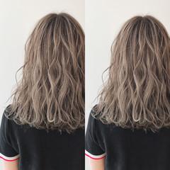 ハイトーン ヘアカラー ナチュラル イルミナカラー ヘアスタイルや髪型の写真・画像