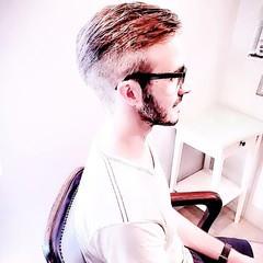 ショート モード ツーブロック ショートヘア ヘアスタイルや髪型の写真・画像