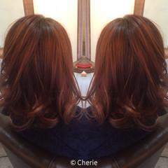 アッシュ ハイライト フェミニン かわいい ヘアスタイルや髪型の写真・画像