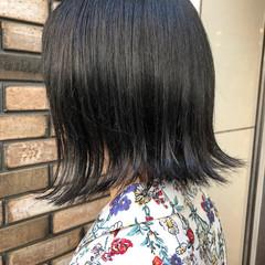 モード グレージュ ダークアッシュ 暗髪 ヘアスタイルや髪型の写真・画像
