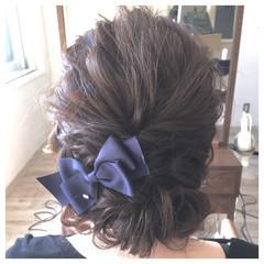 ヘアアレンジ ロング バレッタ 大人かわいい ヘアスタイルや髪型の写真・画像