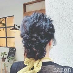 黒髪 上品 エレガント ヘアアレンジ ヘアスタイルや髪型の写真・画像
