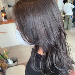 ナチュラル ロング 大人可愛い 透明感カラー ヘアスタイルや髪型の写真・画像