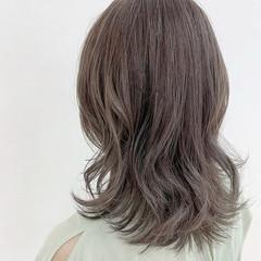 ミルクティーグレージュ ミルクティーアッシュ 透明感 ミルクティーベージュ ヘアスタイルや髪型の写真・画像