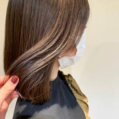 髪質改善 イルミナカラー ナチュラル ブラウンベージュ ヘアスタイルや髪型の写真・画像
