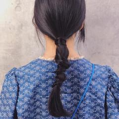 ヘアアレンジ 簡単ヘアアレンジ 髪質改善 アンニュイほつれヘア ヘアスタイルや髪型の写真・画像