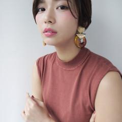 ショート 女子力 色気 コンサバ ヘアスタイルや髪型の写真・画像