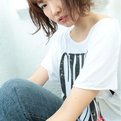 外国人風 ボブ 大人かわいい ゆるふわ ヘアスタイルや髪型の写真・画像