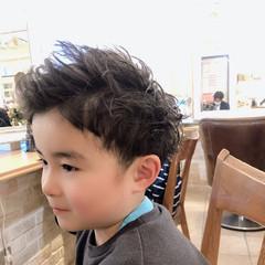 メンズ スパイラルパーマ ショート メンズヘア ヘアスタイルや髪型の写真・画像
