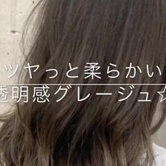 ゆるふわ モテ髪 ナチュラル 冬 ヘアスタイルや髪型の写真・画像