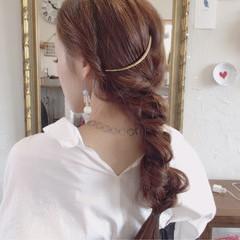 ロング 女子会 お団子 オフィス ヘアスタイルや髪型の写真・画像