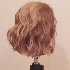 ヘアアレンジ ボブ ヘアアクセ 簡単ヘアアレンジ ヘアスタイルや髪型の写真・画像