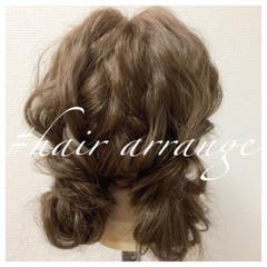 裏編み込み ヘアアレンジ ショート ツインテール ヘアスタイルや髪型の写真・画像